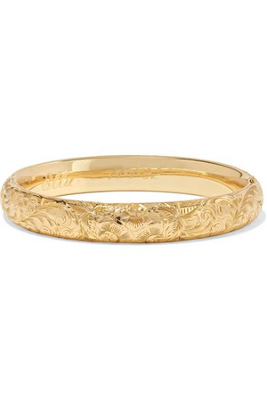 Fred Leighton | 1900s 14-karat gold bangle | NET-A-PORTER.COM