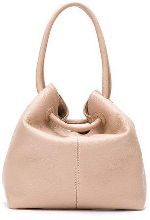 Mara Mac leather bucket bag