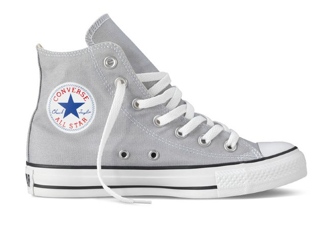 light grey converse