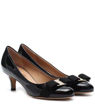 Carla 55 patent leather pumps
