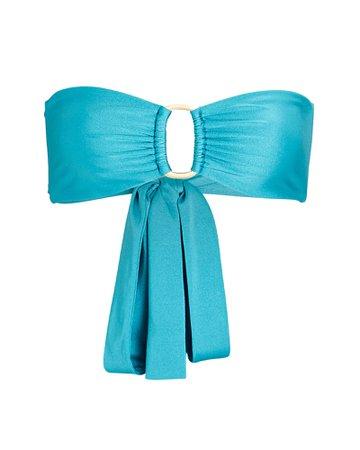 Cult Gaia Lexi Bandeau Bikini Top | INTERMIX®