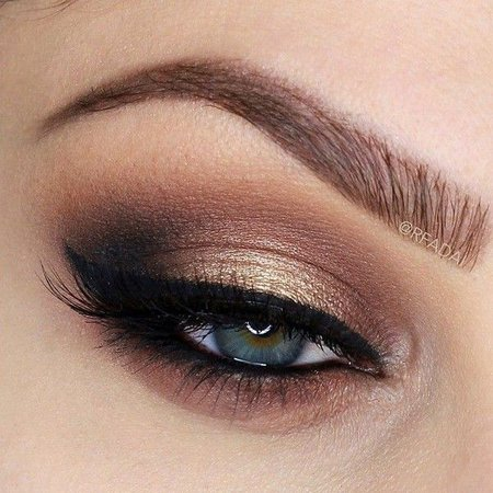 neutral smokey eye makeup look - Google Search
