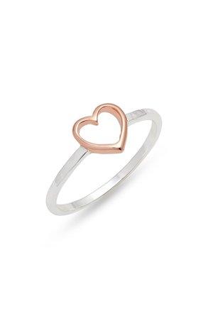 Pura Vida Open Heart Ring | Nordstrom