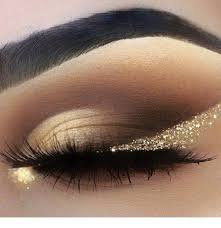 gold and black makeup - Google Search
