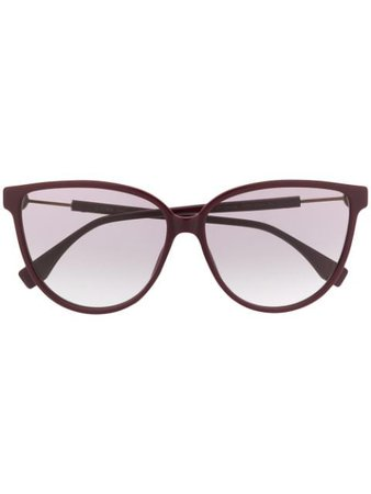 Fendi Eyewear cat-eye Frame Sunglasses - Farfetch