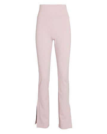 Nicholas Felicity Split Jersey Knit Pants | INTERMIX®