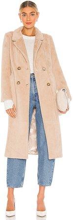 Daria Faux Fur Coat