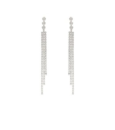 Nile drop crystal earrings