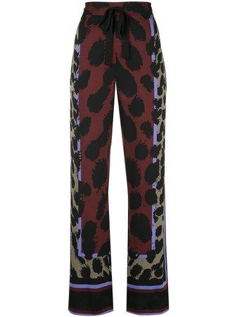 Diane Von Furstenberg Nik Printed Pyjama Pants   Farfetch.com