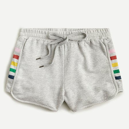 J.Crew: Sundry™ Shorts With Rainbow Racing Stripe For Women