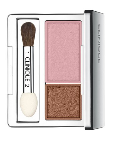 Clinique All About Shadow Duo Compact, Strawberry Fudge