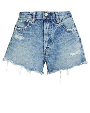 MOUSSY VINTAGE Chester Denim Shorts | INTERMIX®