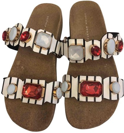 Multicolour Rubber Sandals