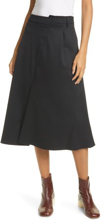 Asymmetrical Waist Skirt
