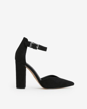 Thick Heel Astor Pumps