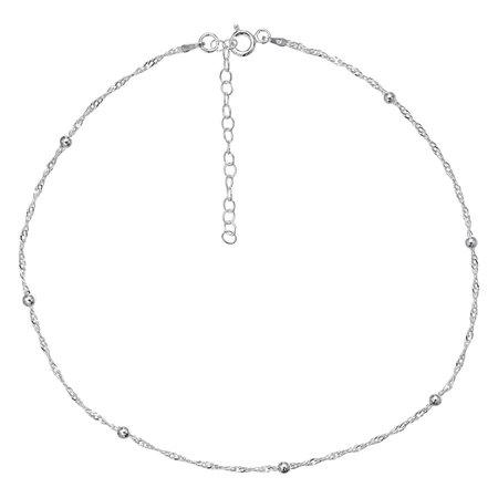 PRIMROSE Sterling Silver Beaded Choker Necklace | Kohls