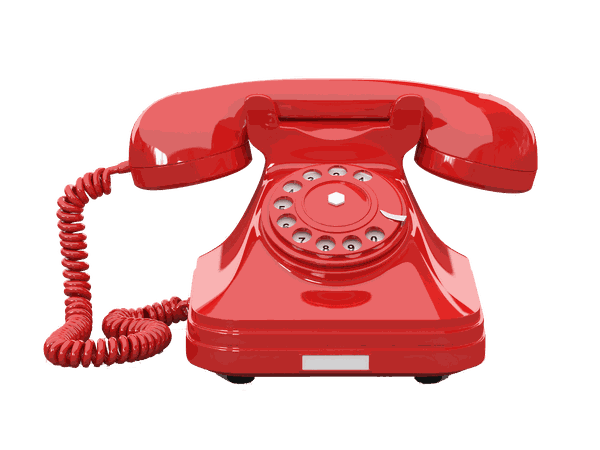 red phone png retro