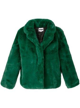 Apparis Manon Short faux-fur Coat - Farfetch