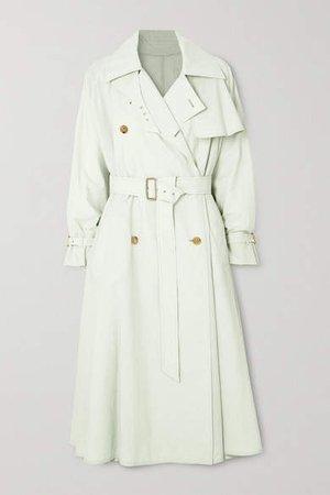 Falster Cotton-blend Trench Coat - Light green
