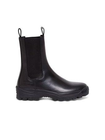 Philosophy di Lorenzo Serafini Leather Ankle Boots