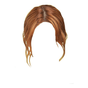 RED GINGER HAIR UP PNG