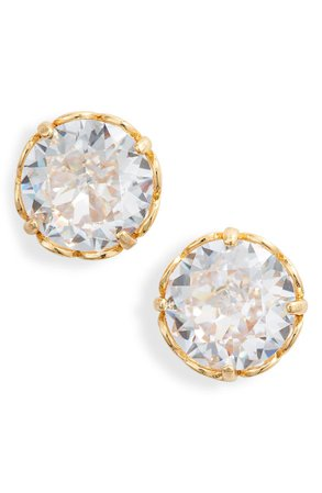 kate spade new york that sparkle round stud earrings | Nordstrom