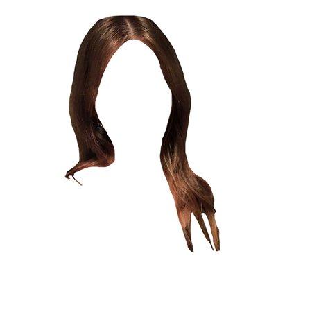 (my) 😄 auburn brown hair