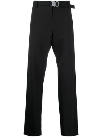 1017 ALYX 9SM high-rise straight-leg Trousers - Farfetch