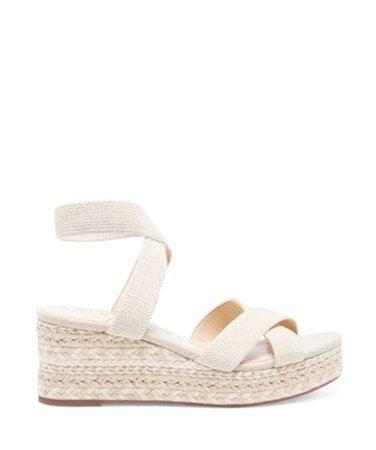 Sole Society Carmelina Elastic Wedge | Sole Society Shoes, Bags and Accessories white
