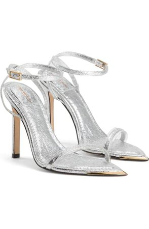 Good American On Point Ankle Strap Sandal (Women) (Nordstrom Exclusive) | Nordstrom