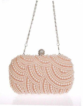 silver and peach purses - Google Search