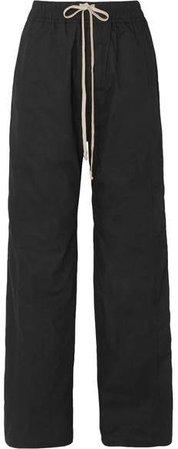 Cotton-ripstop Pants - Black