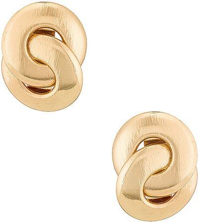 Amber Sceats Textured Earring