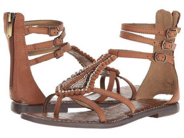 Sam Edelman - Garner (Saddle Leather with Beading) Women's Shoes