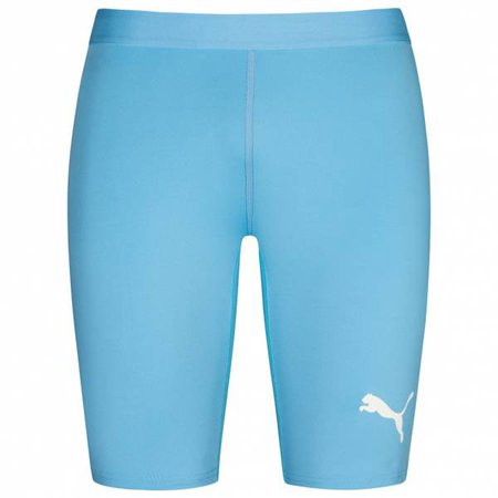 Blue compression shorts 1