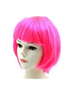 hot pink bob wig - Google Search