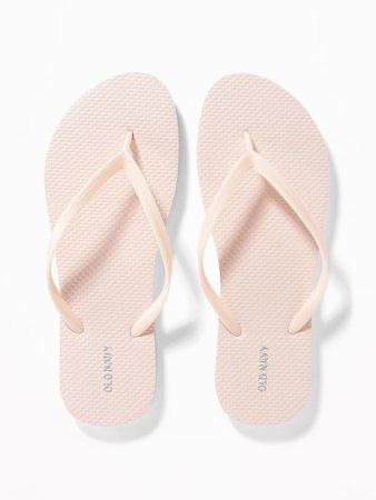 Pop-Color Flip-Flops for Women   Old Navy