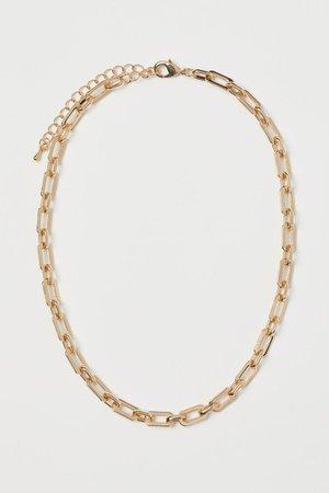 Necklace - Gold-coloured - Ladies   H&M US