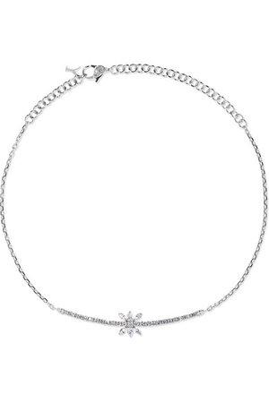 YEPREM   18-karat white gold diamond necklace   NET-A-PORTER.COM