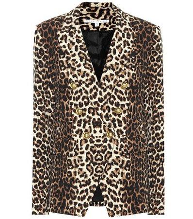 Miller leopard-printed blazer