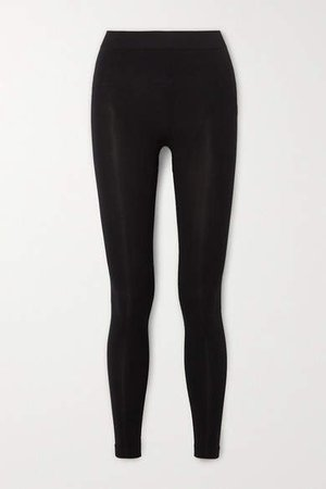 Stretch-jersey Leggings - Black