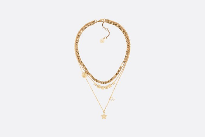 Dior Lucky Square necklace - Fashion Jewellery - Woman | DIOR