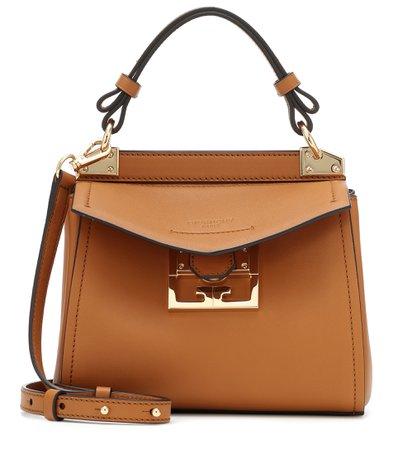 Mystic Mini Leather Shoulder Bag - Givenchy | Mytheresa