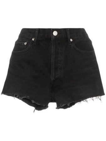 AGOLDE distressed denim shorts $169 - Buy AW19 Online - Fast Global Delivery, Price