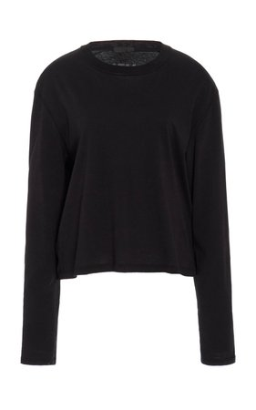Classic Cotton-Jersey T-Shirt by ATM Anthony Thomas Melillo | Moda Operandi