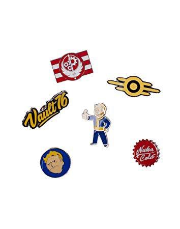 Fallout pin badges