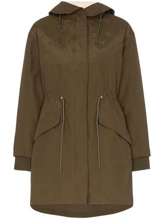 See By Chloé hooded zip up parka
