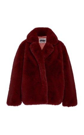Apparis Manon Faux-Fur Coat