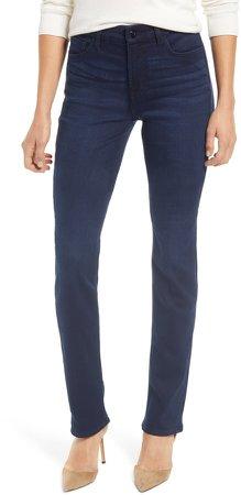 Slim Straight Leg Jeans