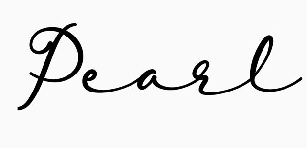 pearl word